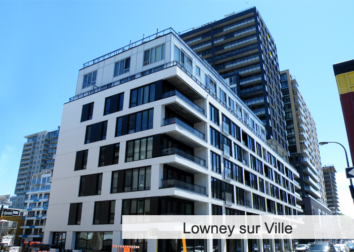 Lowney sur Ville Condos Appartements
