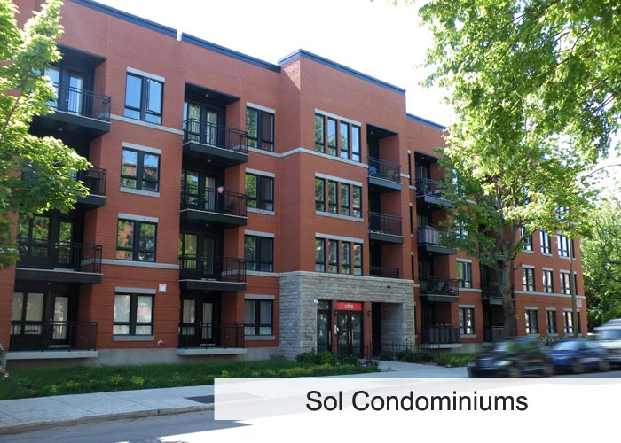 Sol Condominiums Condos Appartements