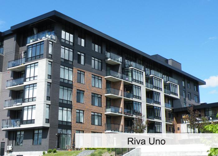 Le Riva-Uno Condos Appartements