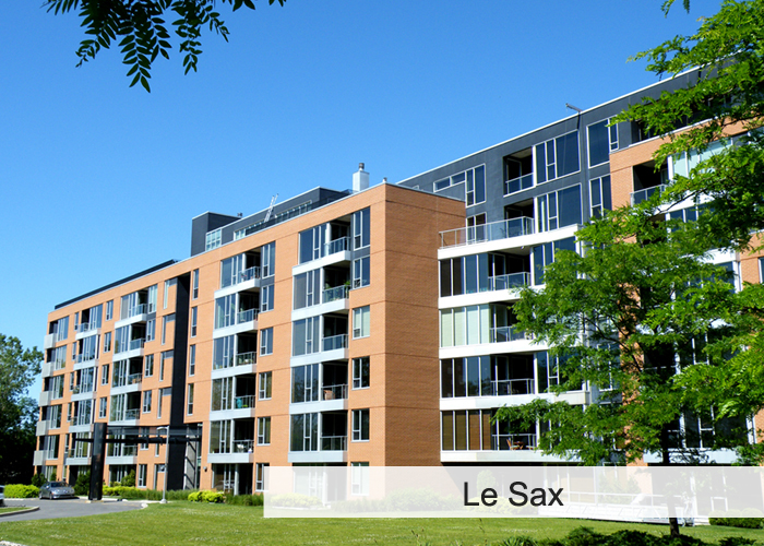 Le Sax Condos Appartements