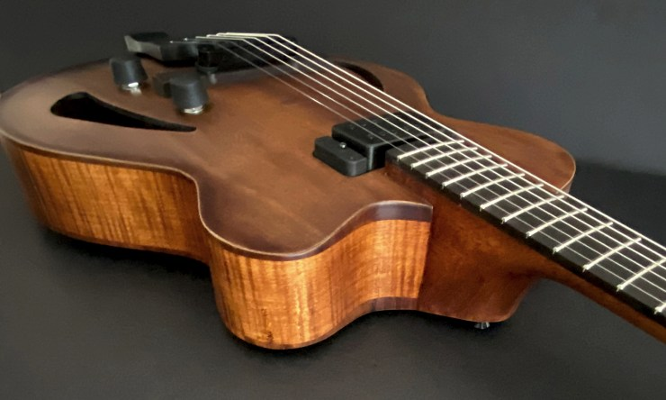Victor Baker Archtop Hollow Body Guitar