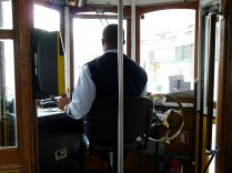 Straßenbahnfahrer