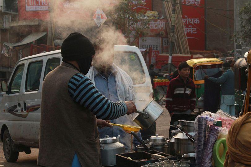 delhi morning