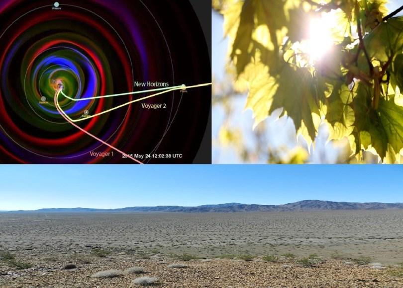 New Horizons, Reverse Photosynthesis, Soda Mountain