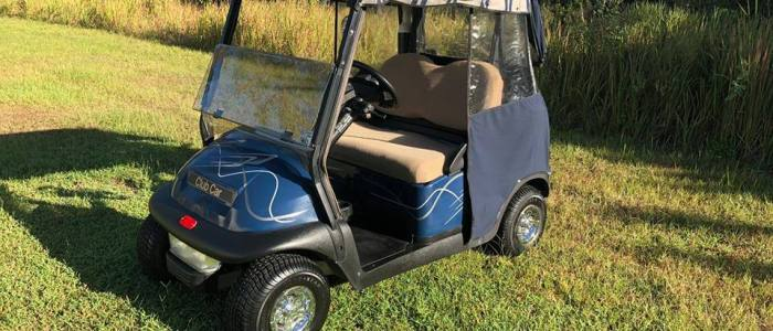 club car precedent side 700x300 - Used Golf Cars
