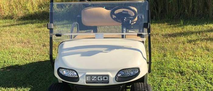 ezgo front 700x300 - Used Golf Cars