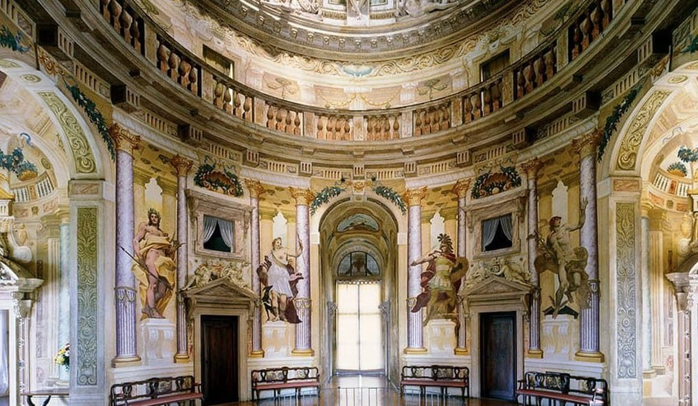 The Palladian Villas The Rotonda interior