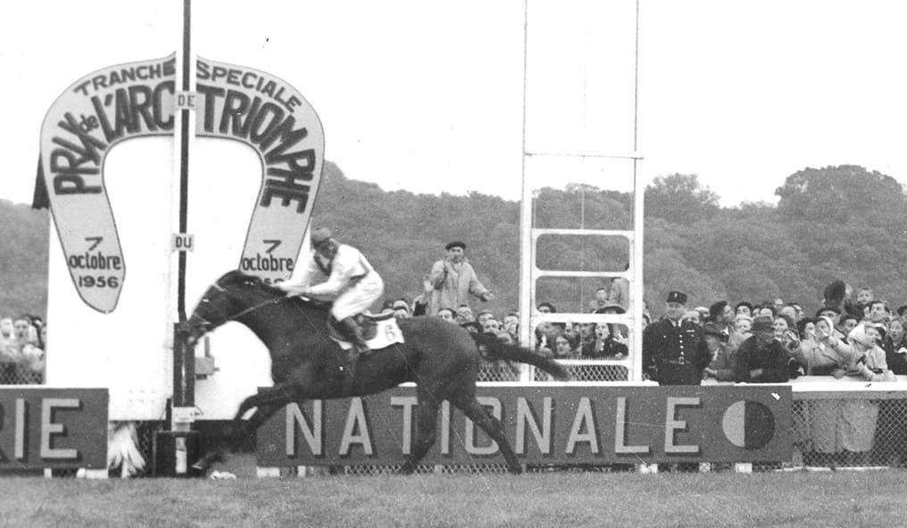 Ribot wins the Arc De Triomphe in 1956