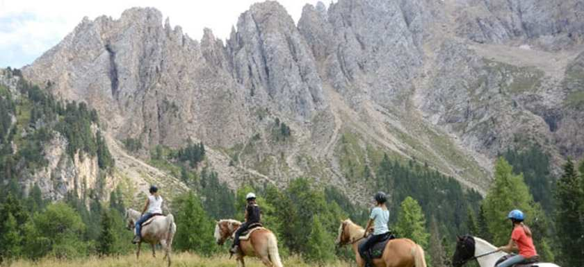 Cortina on Horseback