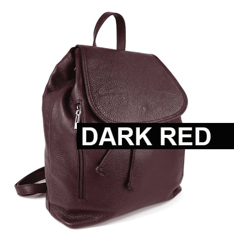 Riding BackPack Dark Red