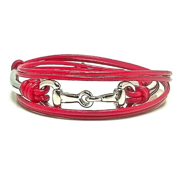 Snaffle and Spiral 308 Bracelet