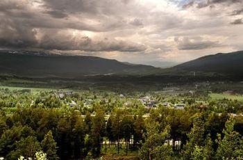 Storm in Norwegian valley, por Tusken91
