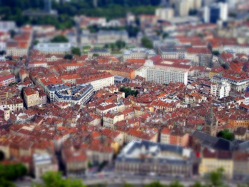 Grenoble Tilt-Shift