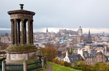 Calton Hill Edinburgh Scotland