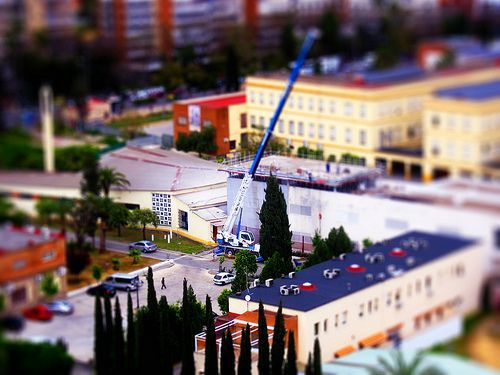 tilt-shift , miniature fakes
