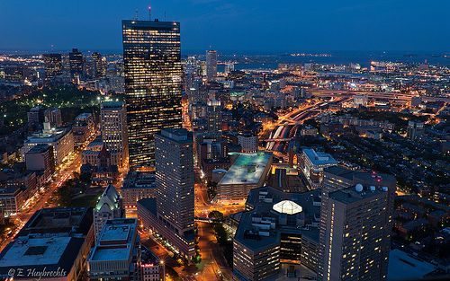 Boston à l'heure bleue - Blue Hour Boston