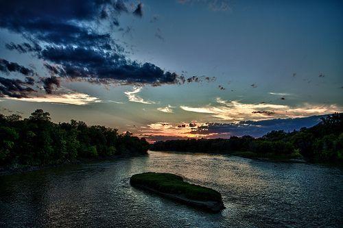 Labor Day Sunset at the Park, por AJ Batac