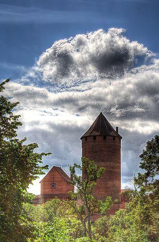 Turaida Castle in Sigulda, Latvia, por Maurice