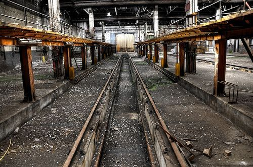 They used to repair trains here