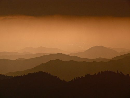 View From Moro Rock - Sequoia National Park-Explore #1 9/13/10, por goingslo
