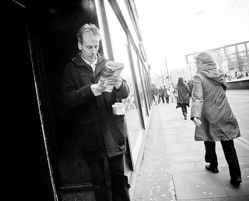 Street Series The Rag, por Caza_No_7