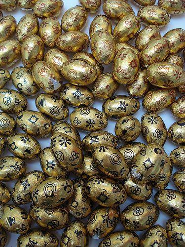 Divine choclate easter eggs, por net_efekt