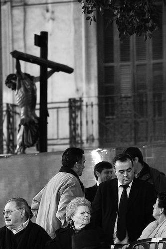 la procesión del cristo escondido, por bachmont