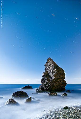 Rock sings to the moon, por SergioTudela