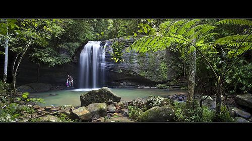 Buderim Falls - Sunshine Coast, por Garry