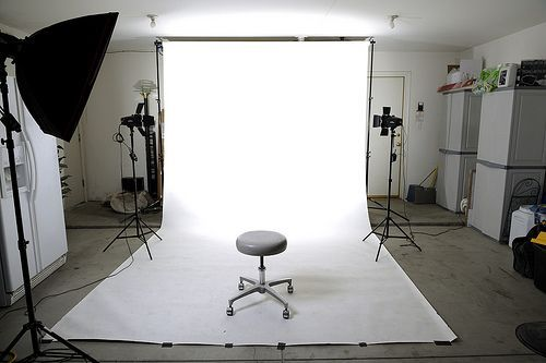 Studio In The RAW High Key Set-up, por Alan Antiporda