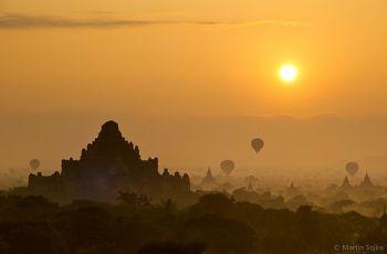 Sunrise over Bagan ~ Myanmar (Burma), por Martin Sojka