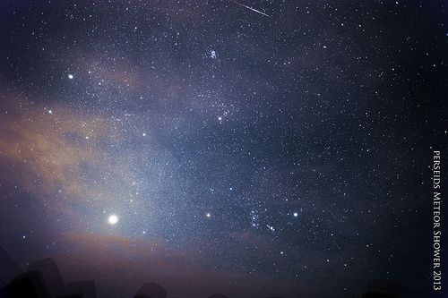 Perseids Meteor Shower 2013, por Eddie Yip