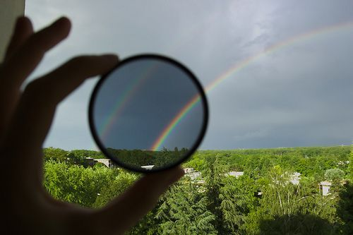 polarize rainbow, por Ruggero Turra