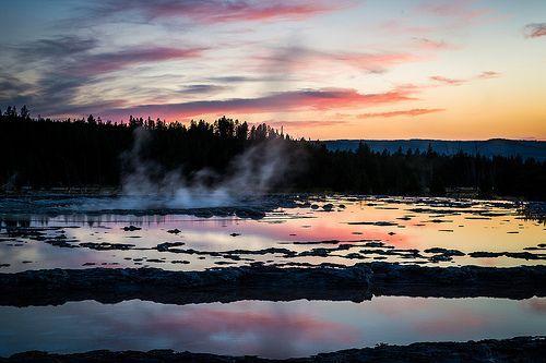 Steamy Sunset, por Howard Ignatius
