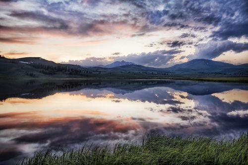 The Sunset at Yellowstone, por Trey Ratcliff