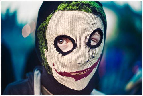disfraz de joker Halloween