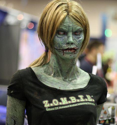 zombies en Halloween
