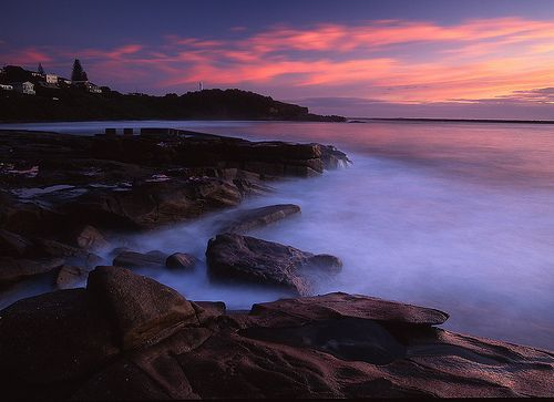 Yamba Sunrise NSW, por Mark Wassell