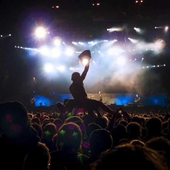Fotografía del concierto de Metallica
