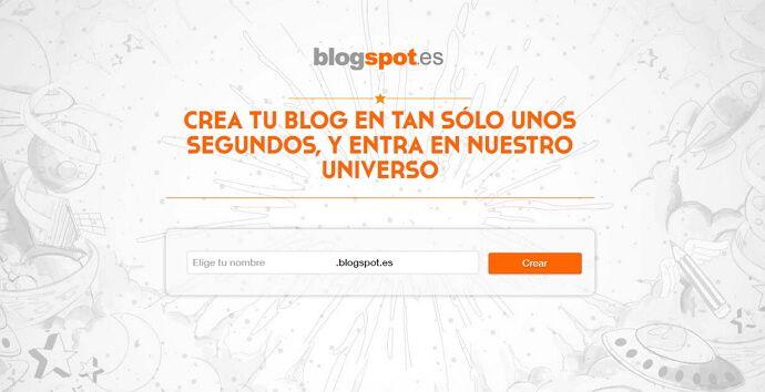 crear un blog gratis con blogspot