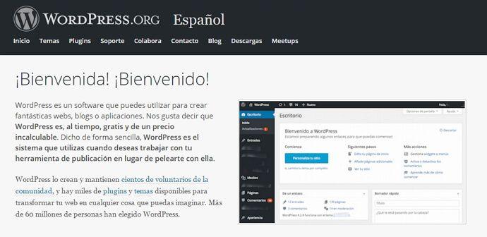 crear un portafolio con wordpress
