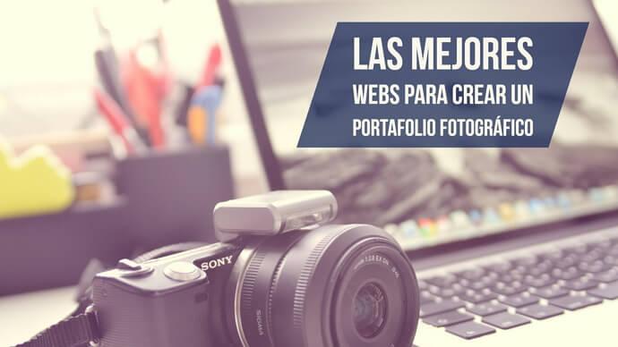 las mejores webs para crear un portafolio para fotografias