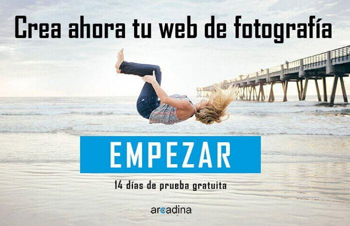 Crear una web de fotografía ahora