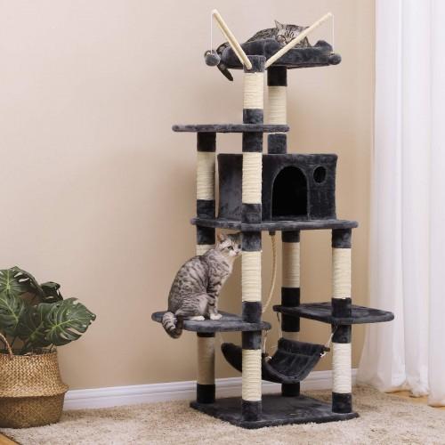 ¿Por qué un árbol para gatos es bueno para tu gato?