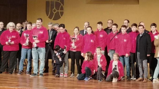 Recogida Trofeos FACV 2018