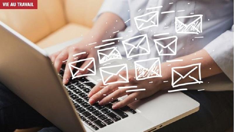"""""""E-mail burn-out"""" : les télétravailleurs sont """"submergés"""" par les messages de leurs collègues"""