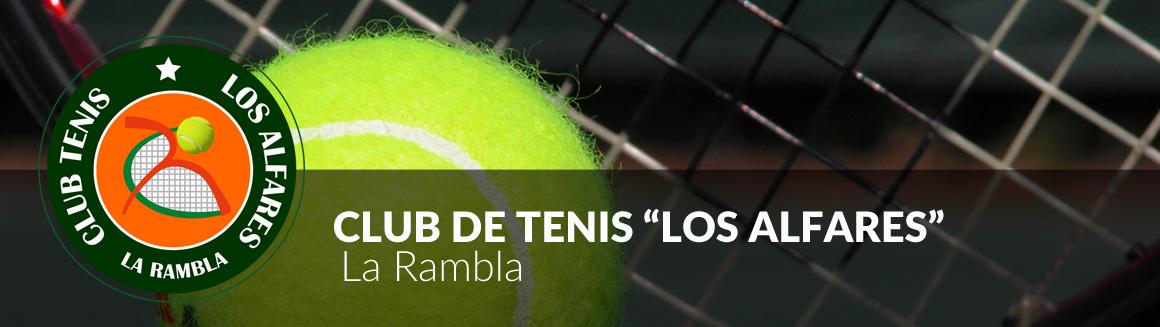 Club de tenis los Alafares, La Rambla