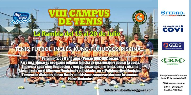 VIII Campus de Tenis