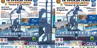"IX OPEN INTERNACIONAL DE TENIS ""Ciudad de La Rambla"""