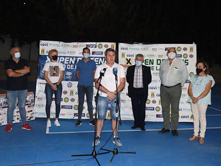 Presentación X OPEN INTERNACIONAL DE TENIS DE LA RAMBLA